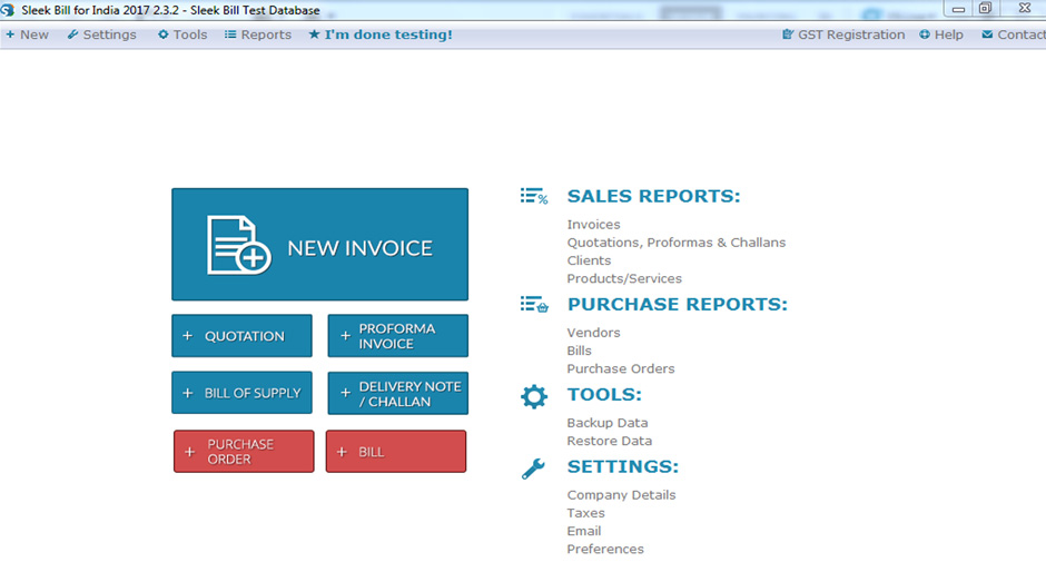 GST Billing Software download